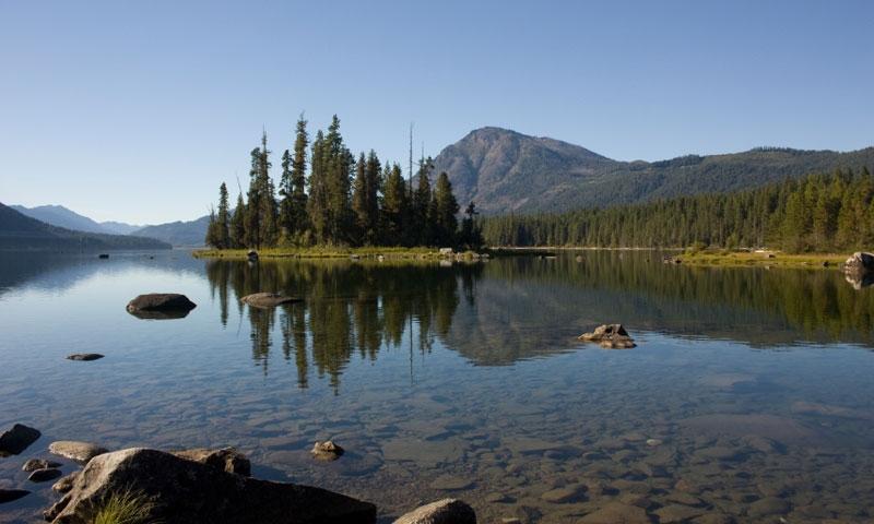 Lake Wenatchee in Washington