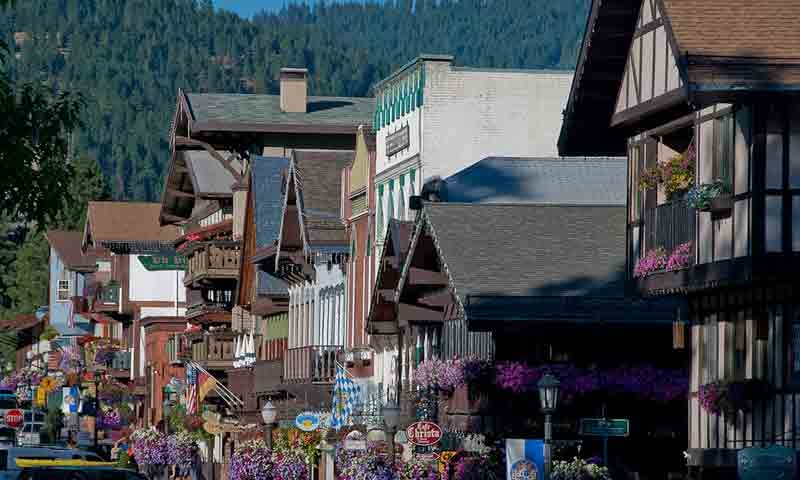 Bavarian Village in Downtown Leavenworth