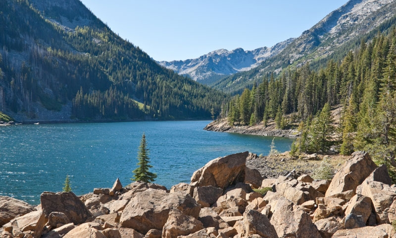 Eight Mile Lake in the Alpine Lakes Wilderness