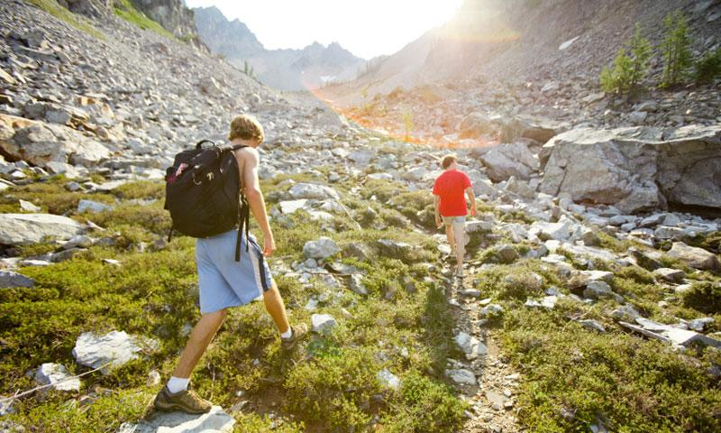 Hiking in North Cascades National Park