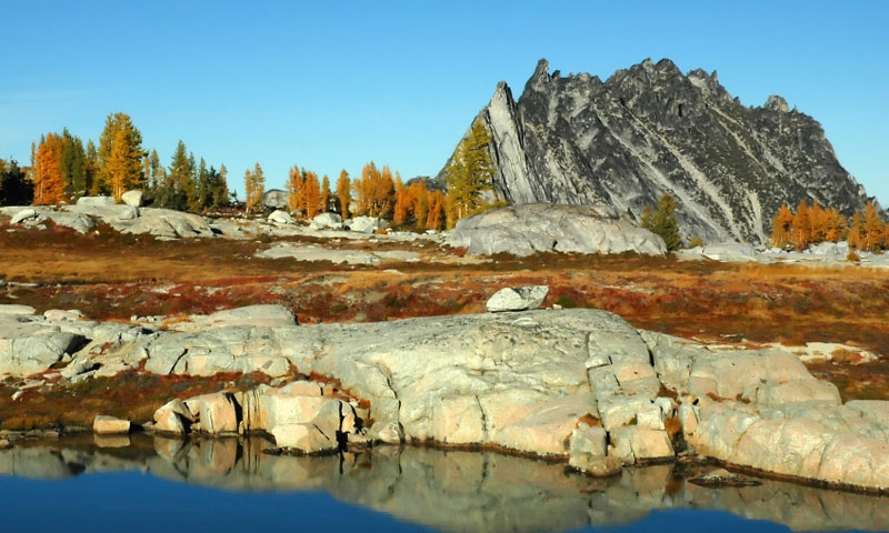 Enchantment Peaks in the Alpine Lakes Wilderness