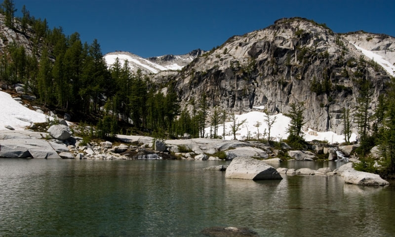 Stuart Range in the Alpine Lakes Wilderness