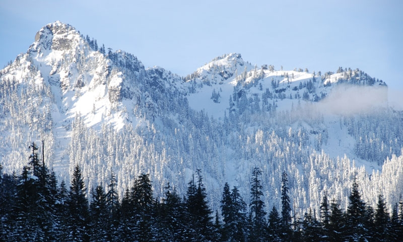 Snoqualmie Pass in Washington