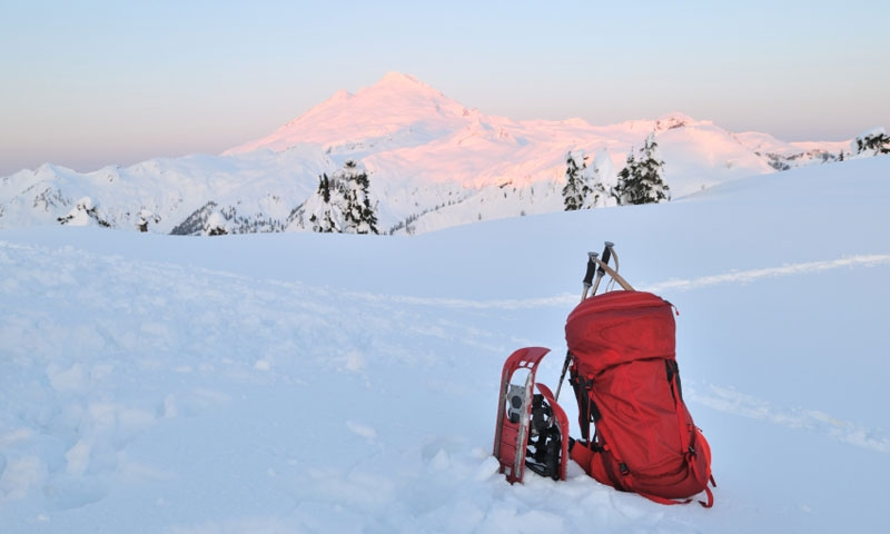 Snowshoeing in Snoqualmie National Forest