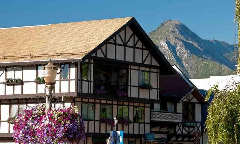 Bavarian Village in Downtown Leavenworth