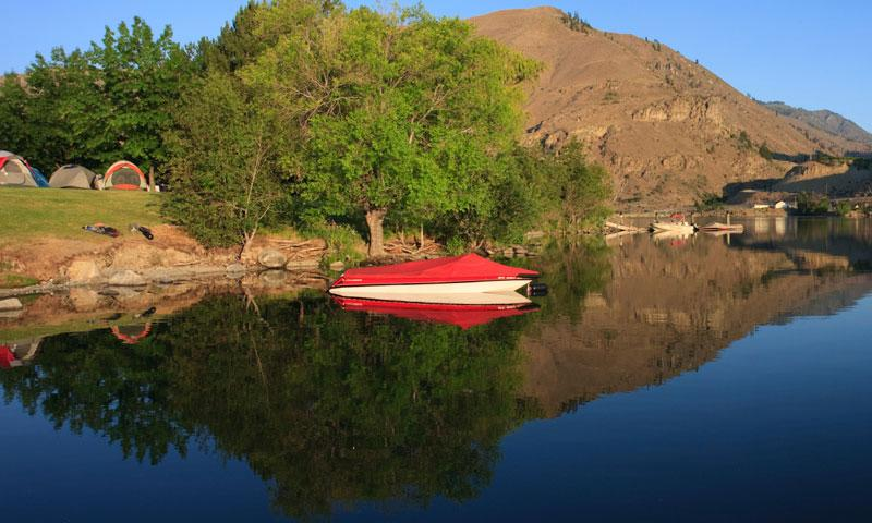 Lake entiat washington fishing camping boating alltrips for Fish lake camping